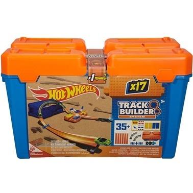 Hot Wheels Hot Wheels Track Builder Bloklu Başlangıç Paketi Renkli